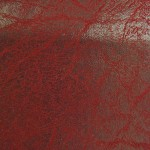 2 Tone Distressed Granum Upholstery Vinyl PVC Fabric Cordovan