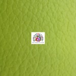 Grain Champion Upholstery PVC Vinyl Fabric Lime