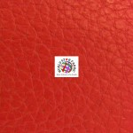 Grain Champion Upholstery PVC Vinyl Fabric Red