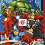 Marvel Comics Cotton Fabric Avengers Assemble