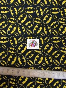 Batman DC Comics Emblem Toss Cotton Fabric