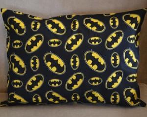 Batman Logo Cotton Fabric Child Pillow Case