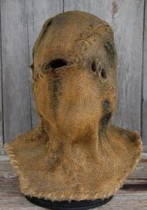 Burlap Fabric Halloween Scarecrow Mask