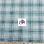 Plaid Tartan Quilt Flannel Fabric Olive Khaki