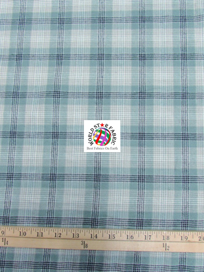 Plaid tartan quilt flannel fabric world star fabric for Cloth world fabrics