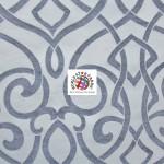 Charlotte Damask Drapery Upholstery Fabric Stone
