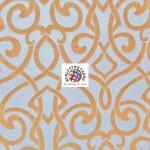 Charlotte Damask Drapery Upholstery Fabric Tango