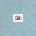 Dimple Dot Baby Soft Minky Fabric Baby Blue