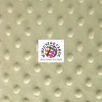 Dimple Dot Baby Soft Minky Fabric Sand