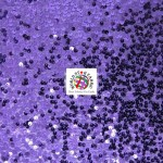 Rain Drop Sequin Taffeta Fabric Purple