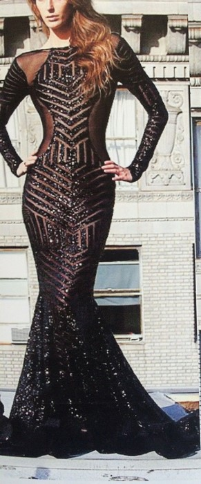 Cosmic Geometric Sequin Fabric Dress