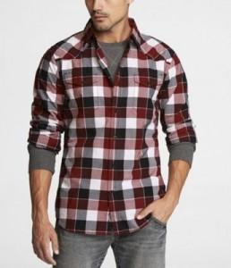 Plaid Flannel Fabric Shirt