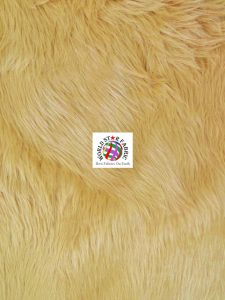Grizzly Shaggy Fur Fabric Latte