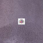 Microsuede Fabric Aubergine