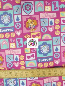 Skye & Everest PAW Patrol Print Cotton Fabric