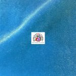 Solid Velvet Spandex Fabric Turquoise