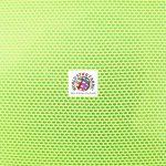 Power Mesh Nylon Spandex Fabric Yellow