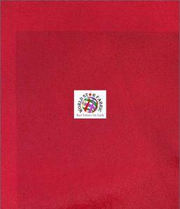 Solid Taffeta Fabric Red