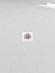 Sparkle Glitter Upholstery Vinyl Fabric White