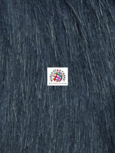 Arctic Fox Fur Fabric Indigo
