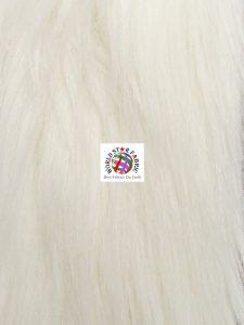 Arctic Fox Fur Fabric Ivory