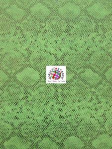 Tropic Sopythana Snake Vinyl Fabric Green