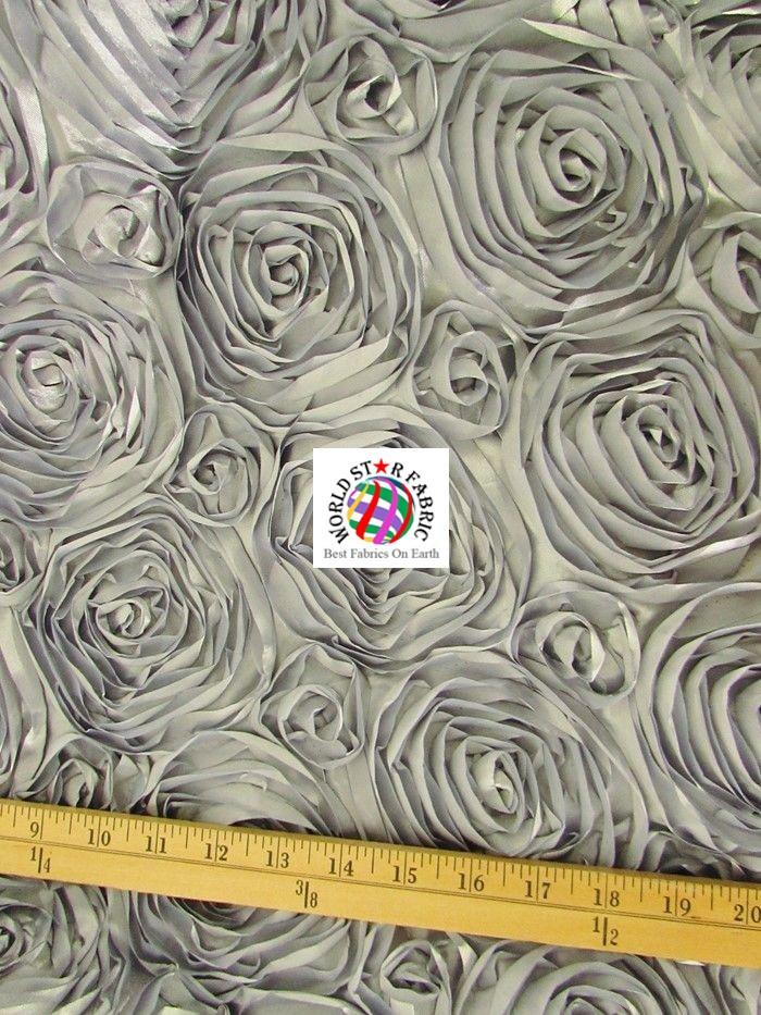 Rosette Style Taffeta Fabric Ruler