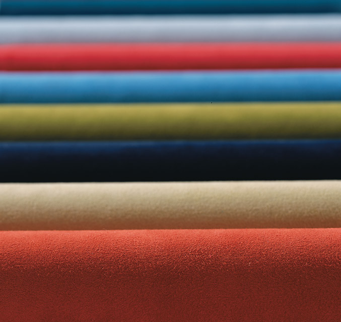 Classic Suede Fabric Rolls