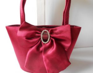 Evening Taffeta Bag