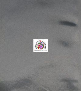 Solid Taffeta Fabric Gray
