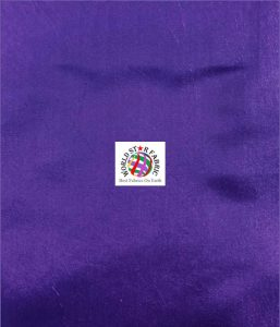 Solid Taffeta Fabric Purple