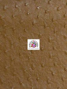 Premium Ostrich Vinyl Fabric Buckskin